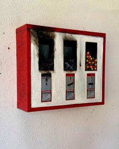 Toninho Dingl Kaugummi Automat burned